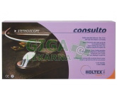 Fonendoskop plochý Consulto Lux + měkké olivky
