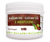 Kaštan gel s mentolem 250ml