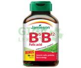 Jamieson Vitamíny B6 B12+kys.list.110tbl