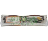 Brýle čtecí American Way v etui +1.50 bordové