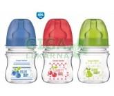 Obrázek CANPOL Láhev EasyStart Fruits 120ml 0% BPA 3035212