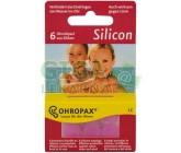 Chránič sluchu OHROPAX Silicon 6ks