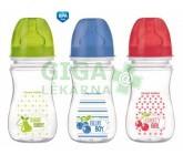 Obrázek CANPOL Láhev EasyStart Fruits 240ml 0% BPA 3035213