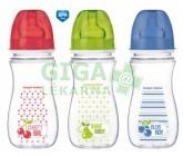 CANPOL Láhev EasyStart Fruits 300 ml 0% BPA 35211 červená