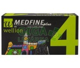 Jehly WELLION MEDFINE PLUS 32Gx4mm 100ks inz.pera