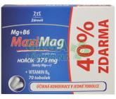 Zdrovit MaxiMag Hořčík 375mg+B6 40% Zdarma tob.70