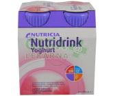 Nutridrink Yoghurt s př.malina por.sol.4x200ml Nov