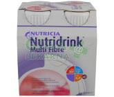 Nutridrink Multi Fibre jahodový por.sol. 4x200ml