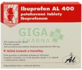 Ibuprofen Al 400 tbl.obd.100x400mg