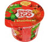 Obrázek Snack 2GO s brusinkami 30g Semix