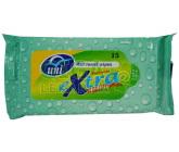 Obrázek Ubrousky Uni Extra vlhčené hygienické 15ks
