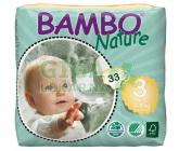 Obrázek BAMBO Nature Midi plenkové kalh. 5-9kg 33ks