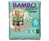 Obrázek BAMBO Nature Pants Junior navl.plen.k.trénink 20ks