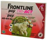 Frontline Tri-Act psi 40-60kg spot-on 3x1 pipeta