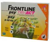 Frontline Tri-Act psi 5-10kg spot-on 3x1 pipeta