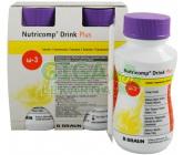 Obrázek Nutricomp Drink Plus Banán por.sol.4x200ml