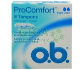 Obrázek DH tampóny o.b. ProComfort Comfort 8ks