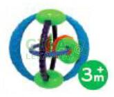 Obrázek BRIGHTSTARTS Hračka OBALL Twist 3m+