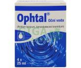 Ophtal oph.aqa 4x25ml plast