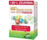 GS Vápník Hořčík Zinek PREMIUM 100+30 tablet