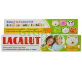 Obrázek Lacalut dětská zubní pasta 4-8 let + krytka na kartáček