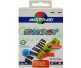 Obrázek Náplasti Master Aid Fantasy barevné, 4 velikosti, 20ks