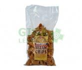 Sezamové chipsy150g Damodara