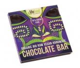 Lifefood Raw čokoláda z nepraženého kakaa BIO 70% kakao chia 35g
