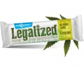 Legalized Hemp Raw Protein Bar 42g (konopná tyčinka) Max sport