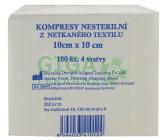 Obrázek Kompres Netex nesterilní 10x10cm 100ks 4 vrstvy