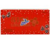 Obrázek Kapesník papírový LINTEO Elite 80ks 2vrstvý vánoční