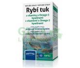 Rybí tuk s vitamíny a Omega-3 kyselinami cps.60