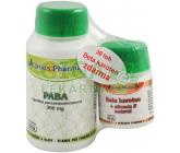 Uniospharma PABA 300mg tbl.100+Beta karoten tob.30