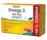 Walmark Omega 3 rybí olej PREMIUM tob.120+60