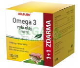 Walmark Omega 3 rybí olej Forte 120+120 tobolek