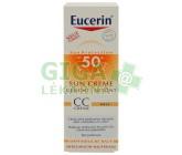 EUCERIN SUN CC krém opalov.SPF50+ světlý 50ml