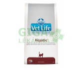 Vet Life Natural Feline Dry Hepatic 2kg