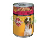 Pedigree konz. Junior - drůbež 400g