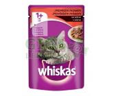 Whiskas kapsa hovězí, telecí 100g, kuřecí 85g