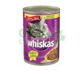 Whiskas konz. kuřecí ve šťávě 400g