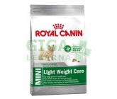 Royal Canin - Canine Mini Light Weight 8kg
