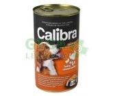 Calibra Dog konz.-krůta + kuřecí +těstoviny v želé 1240g
