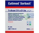 Cutimed Sorbact 7x9cm 5ks antimikrob.krytí přířez