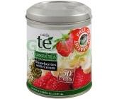 Obrázek Čaj Cuida Te sypaný zelený Smetanové jahody 100g