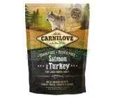 Carnilove Dog Adult Salm.& Turk. Large Breed GF 1,5kg