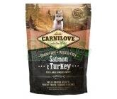 Carnilove Dog Puppy Salm.& Turk. Large Breed GF 1,5kg