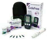 Glukometr SD Codefree set(př.+10pr+pero+10jehel)