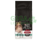 PRO PLAN Dog Adult Medium Sens.Digestion 14kg