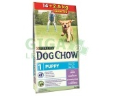 Purina Dog Chow Puppy Lamb+Rice 14 + 2,5kg