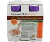 Nutricomp Drink Plus Fibre Čokoláda por sol 4x200ml